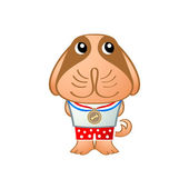 ładny pies — Wektor stockowy