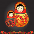 Matryoshkdolls — Vector de stock #7007557