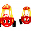 Royalty-Free Stock Vector Image: Child cars