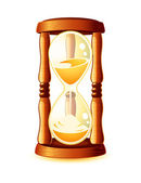 Hour-glass — Stock Vector