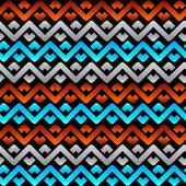 Seamless celtic linen pattern — Stock Vector