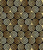 Celtic spiral pattern — Stock Vector