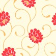 Seamless floral pattern — Stock Vector #7231326