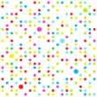 Stock Vector: Seamless dots