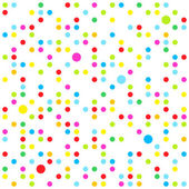 Seamless dots — Stock Vector