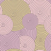 Cirkel prickar — Stockvektor