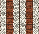 Africké bezešvé vzor — Stock vektor