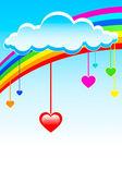 Love rain — Stock Vector