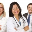 Group of Doctors or Nurses on a White Background — Stock Photo #6917513