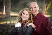 Loving Daughter and Father Portrait — Stock Photo