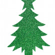 Stock Photo: Sparkly green tree