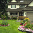 Manicured Home and Yard — Stock Photo #6869300