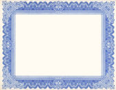 Old Certificate Border — Foto Stock