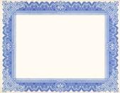 Old Certificate Border — Stock Photo