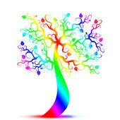 Art tree — Cтоковый вектор