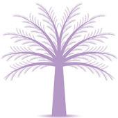 Albero pino — Vettoriale Stock