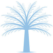 Pine tree — Vector de stock