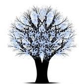 Umění strom — Stock vektor