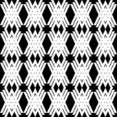 シームレスなファッション幾何学模様 — ストックベクタ