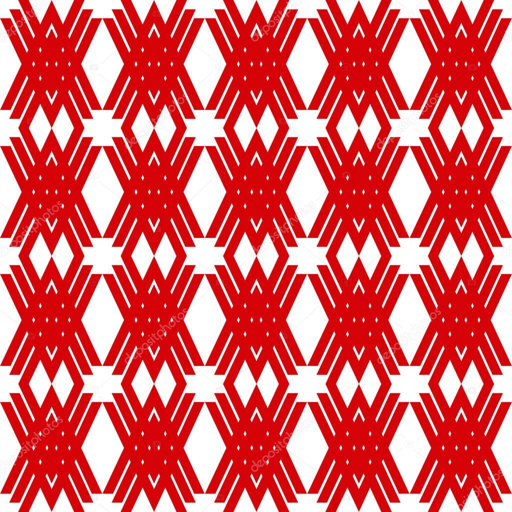 三角纹样剪纸图案步骤