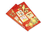 Chinese lucky money red envelope — Foto Stock
