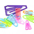 Colorful paper-clips — Stock Photo #7184098