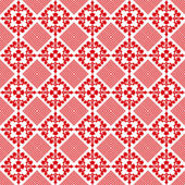 Seamless floral pattern — Vetor de Stock
