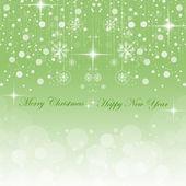 Happy New Year & Merry Christmas — Stock Vector