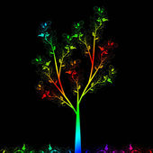 艺术树 — 图库矢量图片