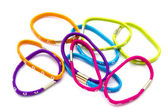 Colorful rubber bands — Stock Photo