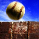 Baseball in Air — Photo