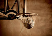 Basketbal schot — Stockfoto