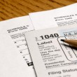 Tax Forms — Stock Photo #7959158