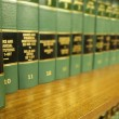 Law Books — Foto de stock #7959289