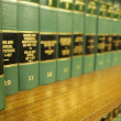 Law Books — Foto de Stock