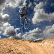 Mountain Biking - Stock fotografie