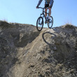 Mountain Biking — Stock Photo #7959528