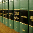 Law Books on Consumer Protection — Foto de Stock