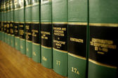 Law Books on Consumer Protection — Fotografia Stock