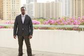 Handsome businessman in a suit — Stock fotografie