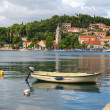 Croatia Medieval Village — Stock Photo