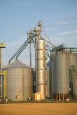 Silos di grano — Foto Stock