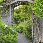 Garden Arbor — Stock Photo