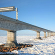confederation bridge — Stock Photo