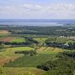 Nova Scotia Farmland - Stock Photo