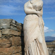 Delos Statue - Stock Photo