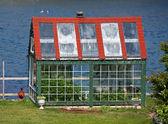 Seaside Greenhouse — Stock Photo