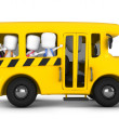 Stock Photo: School Bus