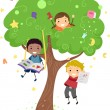 Royalty-Free Stock Photo: Kids Tree