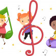 Music Kids — Stock Photo #6856981